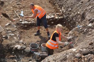 Ausgrabungen in der mittelalterlichen Vorstadt Freiburg-Neuburg