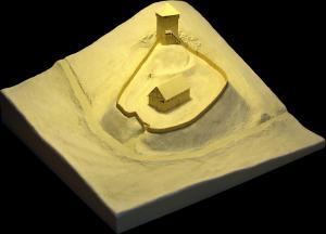 Geländemodell Kastenbuck von Wolfgang Schwörer 2000
