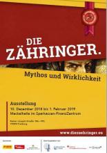 Ausstellungsplakat - Die Zaehringer - Mythos und Wirklichkeit