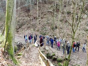 Exkursion im Schatten der Burg Kuernberg am 15.03.2015-11