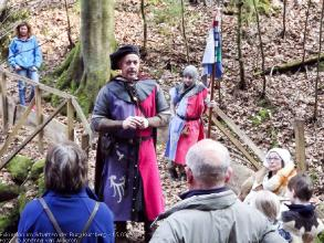 Exkursion im Schatten der Burg Kuernberg am 15.03.2015-21