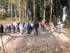 Exkursion im Schatten der Burg Kuernberg am 15.03.2015-75