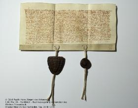 GLA Karlsruhe Sig. 24 Nr. 1238 - Replik van Akkeren
