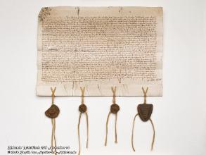 Replik Urkunde Waldkirch 1315 Nov 14