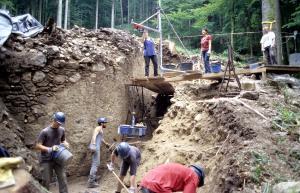 Birchiburg Ausgrabungen