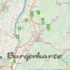 Burgenkarte