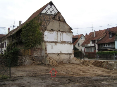 Zwingmauer Üsenbergstraße