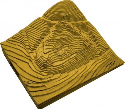 Kastenbuch 3D Modell