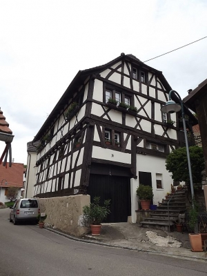 Ältestes Haus in Istein - 1553