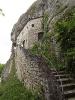 Aufgang zur Burg Istein