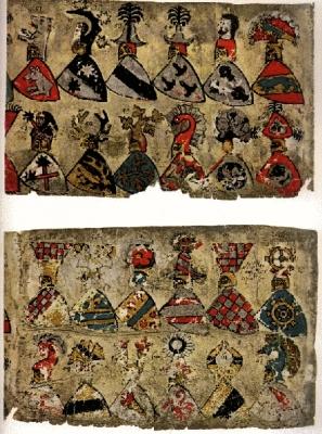 Züricher Wappenrolle 1340